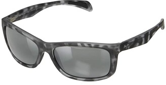 Maui Jim Puhi (Grey Tortoise Matte Rubber/Neutral Grey) Fashion Sunglasses