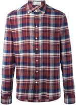 Faith Connexion plaid button down shirt - men - Cotton - S