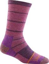 Darn Tough Women's Summit Stripe Boot Sock Full Cushion, Violet