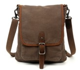 Tsd Brand Valley Vista Canvas Crossbody Bag