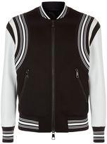 Neil Barrett Neoprene Varsity Jacket