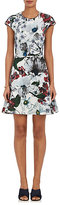 Erdem Women's Darlina Floral Cap-Sleeve Dress