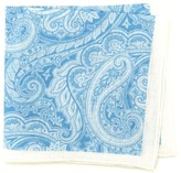 J.Mclaughlin Italian Linen Pocket Square In Floral
