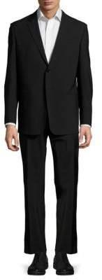Armani Collezioni Long-Sleeve Solid Suit