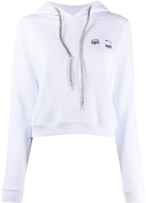 Chiara Ferragni Flirting embroidered hoodie