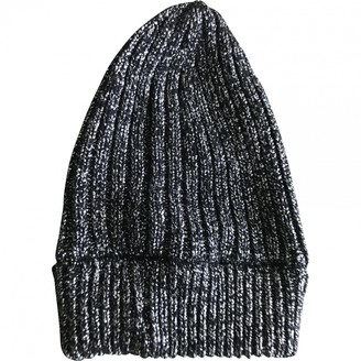 Prada Silver Wool Hats