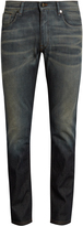 Fendi Low-rise slim-fit distressed jeans