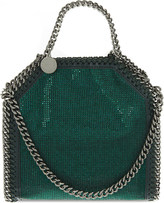 Stella McCartney Tiny Falabella crystal cross-body bag