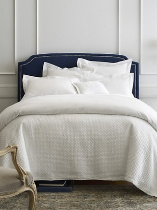 Peacock Alley Juliet Egyptian Cotton King Matelasse Coverlet