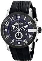 Mulco Unisex MW3-12239-025 Ilusion Roll Analog Display Swiss Quartz Black Watch