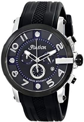 Mulco Unisex MW3-12239-025 Ilusion Roll Analog Display Swiss Quartz Watch
