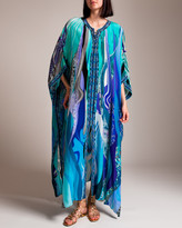 Camilla Wategos Wanderlust Long Lace Up Kaftan