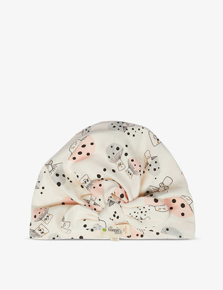 Bonnie Mob Mushroom-print organic cotton hat 12-24 months