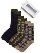 UGG Crew Socks Gift Set - Pack of 3