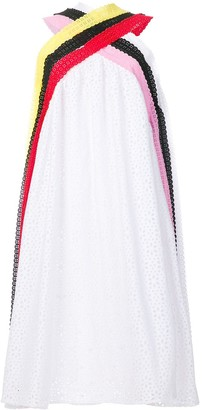 MSGM Broderie Anglaise Swing Dress