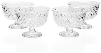 Godinger Dublin Ice Cream Bowls - Set of 4