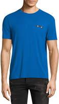 Fendi Men's Solid Crewneck T-Shirt