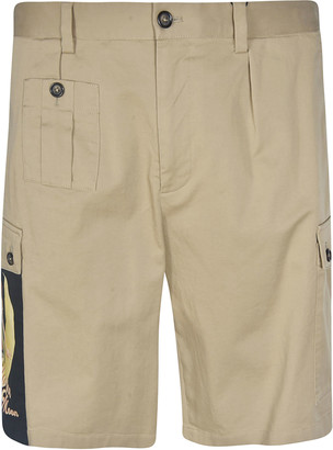 Dolce & Gabbana Side Cargo Pocket Shorts