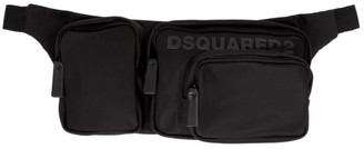 DSQUARED2 Black Nylon Belt Bag