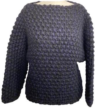 Hermes Navy Wool Knitwear