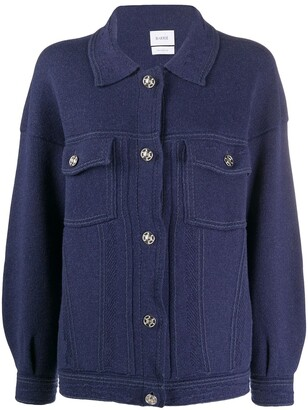 Barrie Button-Up Two-Pocket Cardigan