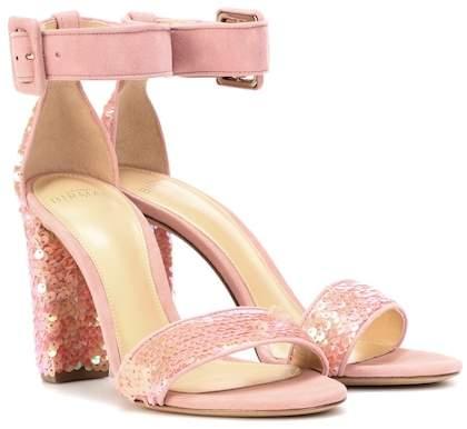 Alexandre Birman Delfinna Disco 90 sequined sandals