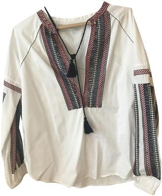 Charli White Cotton Tops