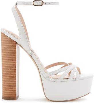 Rachel Zoe Charlotte Stacked Heel Platform Sandals