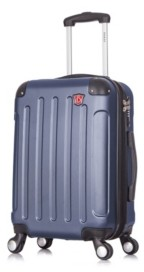 "Dukap Intely 20"" Hardside Spinner Carry-On Luggage With Usb Port"