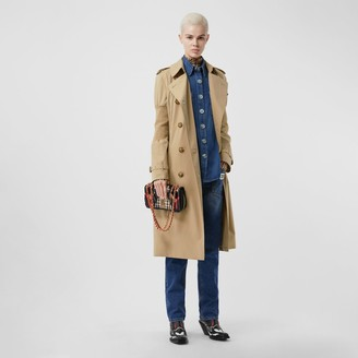 Burberry Panelled-sleeve Cotton Gabardine Oversized Trench Coat