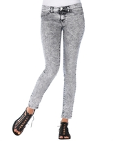 Jeans Static Acid-Wash Leggings