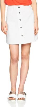 Noisy May Women's Nmsunny Shortdnm Skaterskirt Gu125 Noos Skirt