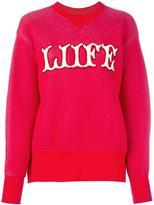 Sacai 'Liife' sweatshirt