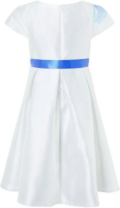 Monsoon Girls Peony Bloom Print Dress - Ivory