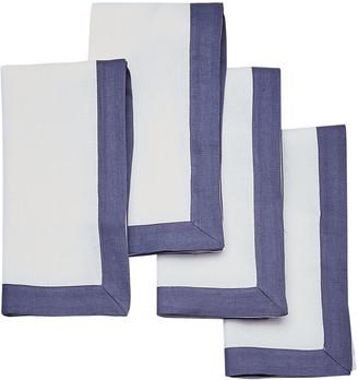 Moda Domus Set-Of-Four Linen Napkins