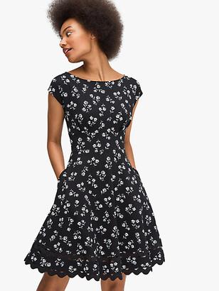 Kate Spade Dandelion Floral Ponte Dress