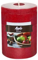 """SONOMA Goods for LifeTM 4"""" x 3"""" Apple Spice Pillar Candle"""