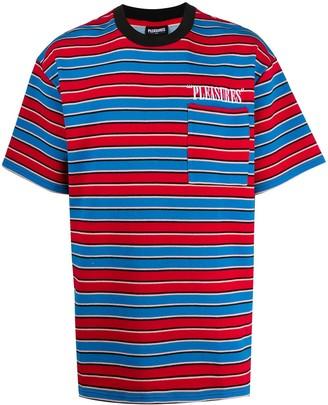Pleasures Oversized Stripe T-Shirt