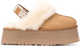 UGG Shearling Sling-Back Shoes