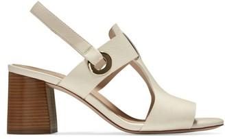 Cole Haan Avana Leather Block-Heel Sandals