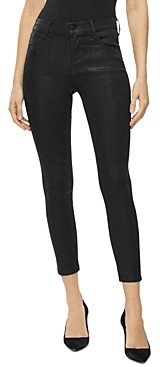 J Brand Alana High Rise Cropped Skinny Jeans in Fearful