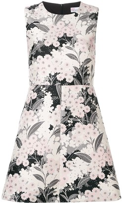 RED Valentino floral-print dress