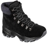 Skechers Women's D'Lites Powder Cold Weather Ankle Boot