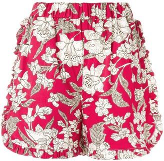 La DoubleJ Lilium ruffle shorts