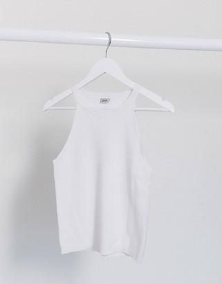 Pimkie halter neck vest in white