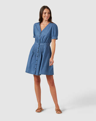 French Connection Button Up Dress