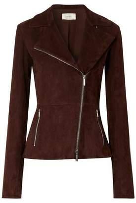 The Row Paylee Suede Biker Jacket