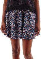 JCPenney OLSENBOYE Olsenboye Aztec Print Skater Skirt
