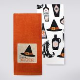 Celebrate Halloween Together Cheers Witches Kitchen Towel 2-pk.