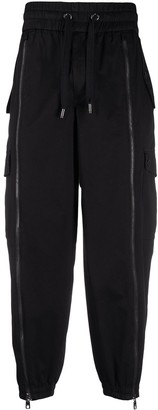 Dolce & Gabbana Zipped Tapered Track Pants